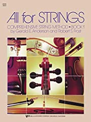 All For Strings is a comprehensive three-volume method surrounded by a wealth of supplementary materials for teaching and performance. This complete curriculum covers virtually every aspect of beginning through intermediate string study, emph...