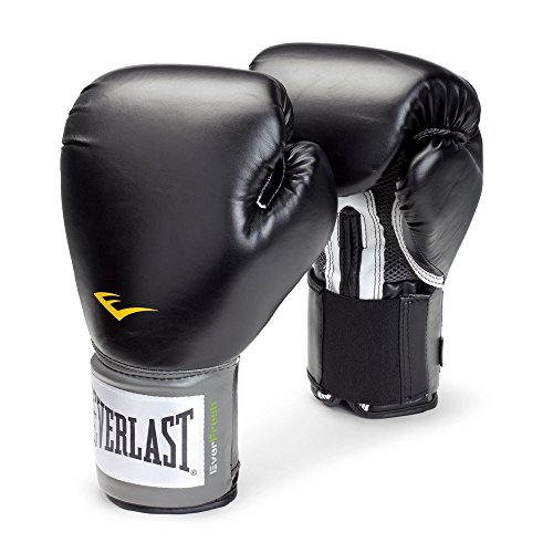 (Everlast Pro Style 8-Ounce Training Gloves (Black))