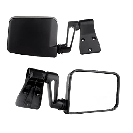 Towing Mirrors, For Jeep SCITOO Exterior Accessories Mirrors For 1987 2002  Jeep Wrangler With
