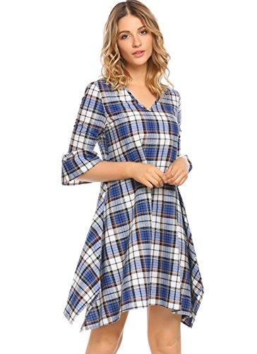 flannel tunic dress - 9