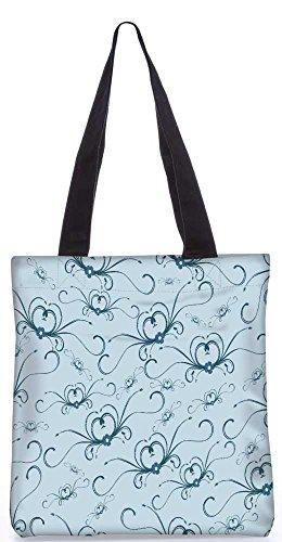 Snoogg Abstraktes Muster-Einkaufstasche 13,5 X 15 In Shopping-Dienstprogramm Tragetasche Aus Polyester Canvas
