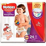 Fralda Huggies Supreme Care Roupinha Mega XXG, 24 Fraldas