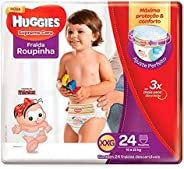 Huggies Fralda Supreme Care Roupinha Mega XXG, 24 Fraldas