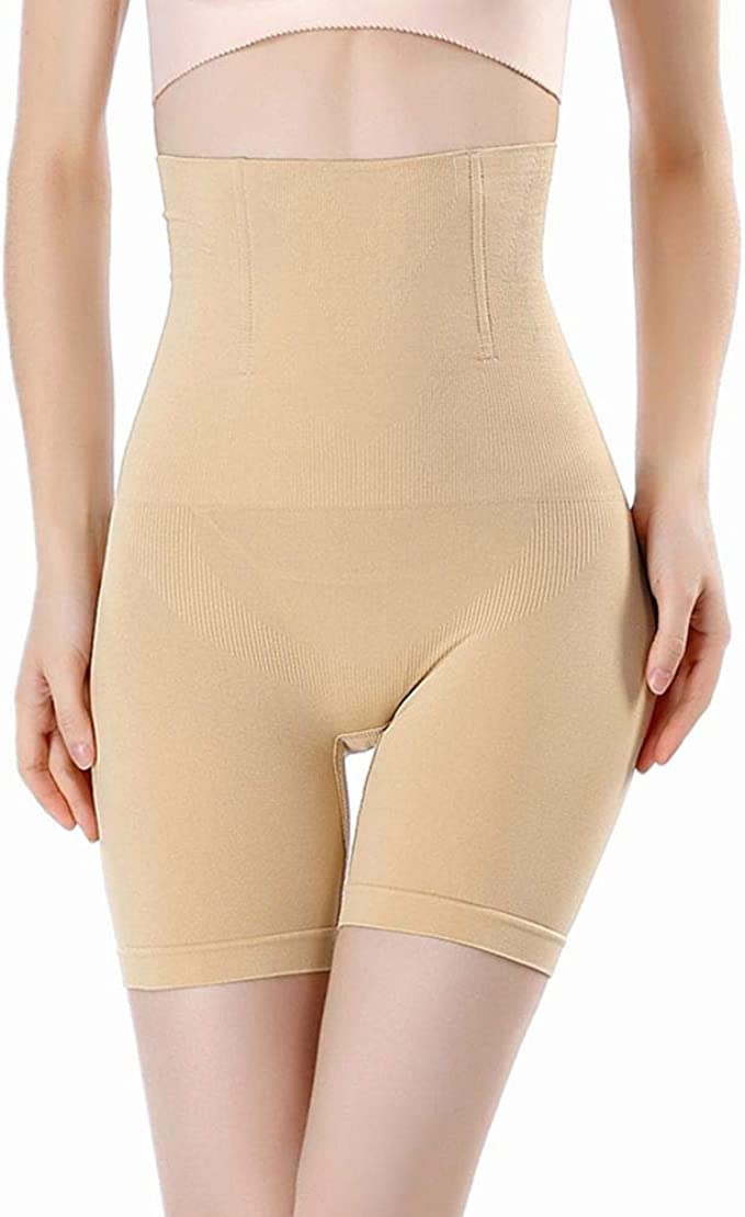 High Waist Tummy Control Pants Body Shaper Thigh Slimming Shapewear Underwear UK