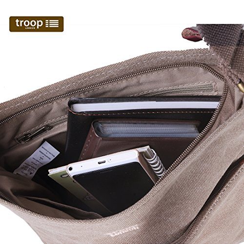 Troop trp0237Bandolera Klassisch Verde - Caqui