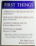 img - for First Things (Number 155, August/September 2005) book / textbook / text book