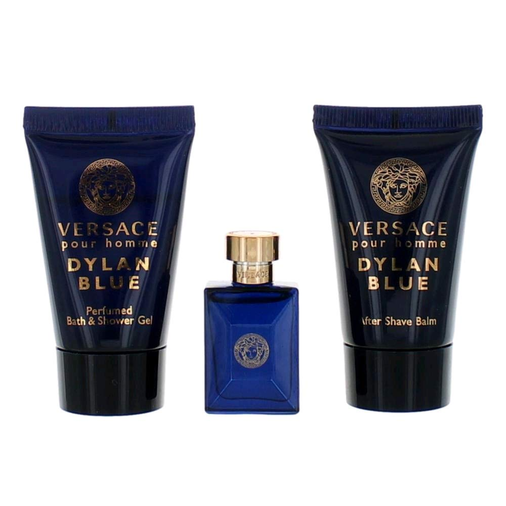 Versace Dylan Blue Pour Homme 3-Piece Miniature Set for Men by Versace
