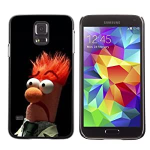 Licase Hard Protective Case Skin Cover for Samsung Galaxy S5 - LOL Muppet