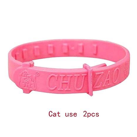 Amazon.com: Collar para gato, 2 unidades, protección de goma ...