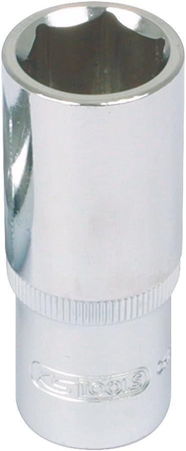 KS TOOLS 918.1247 Douille longue 1//2-6 pans CHROMEplus 17 mm