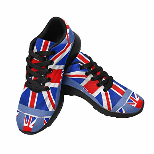 InterestPrint Womens Jogging Running Sneaker Lightweight Go Easy Walking Comfort Sports Running Shoes Multi 5 L4LCRo