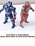 Review: Iron Man 3 Assemblers (Iron Man Mark 42 and Iron Patriot)