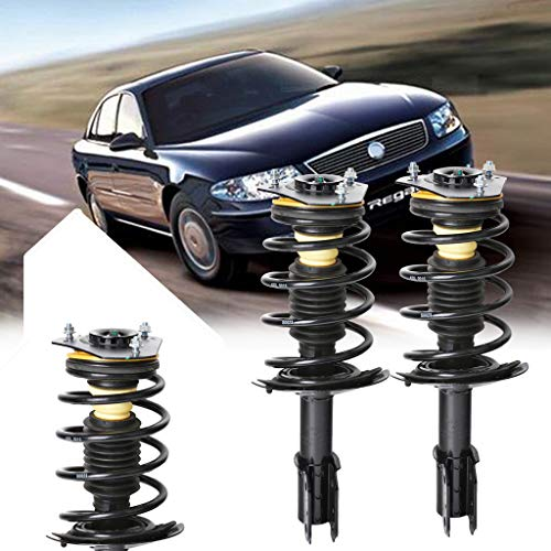 Sonmer Front Driver Passenger Side Complete Struts Coil Spring Assemblies Damper 171661 Model Vehicle Shock Absorber for GM(Pack of 2) by Sonmer_Car Kit (Image #5)