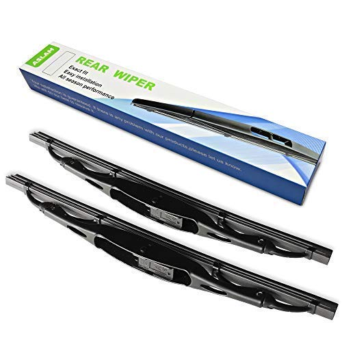- Rear Wiper Blade,ASLAM Type-E 12-1 for 2002-2006,2012-2016 Honda CR-V Rear Windshield,Exact Fit(Pack of 2)