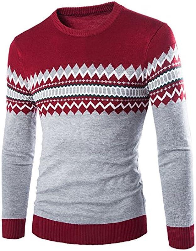U/A Męskie Pullover Herbst Winter Pullover Männer Pullover Casual Sweater Männer Strickwaren: Odzież
