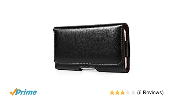 C7 Pro S8+ C5 Pro Black Texture Horizontal Hip Belt Clip Holster Case Pouch Bag for Apple iPhone 7 8 Plus//Samsung Galaxy Note 8 A7 2017 S8 A5 J7 V