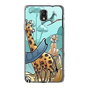 Samsung Galaxy Note3 FpN16919yUki Unique Design Trendy Madagascar 3 Series Protector Hard Phone Covers -KellyLast
