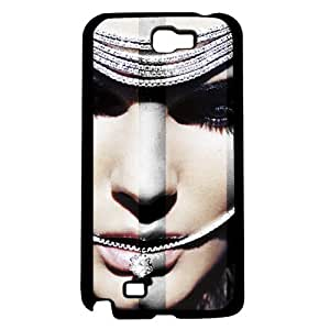 Diamonds Are Forever Draping Over Face Hard Snap on Phone Case (Note 2 II)