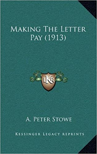 Book Making the Letter Pay (1913)