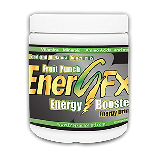 EnerGFX Healthy Energy Booster Energy Drink with Vitamins, Minerals, Amino Acids, and more