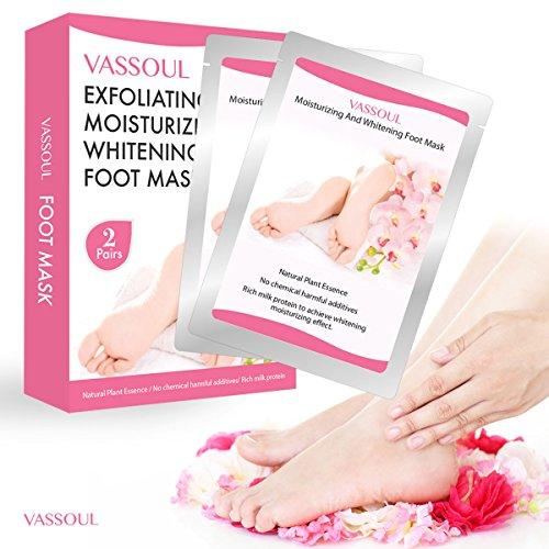 脚部像婴儿般光滑!Vassoul天然脚膜只要$8.99!