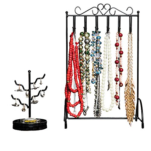 [Best Necklace Holder & Ring Holder for Women by Specialty Styles With No Tip Stand] (Tangled Costume Ideas)