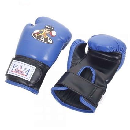 contractubex niños dibujos animados guantes de boxeo azul amazon