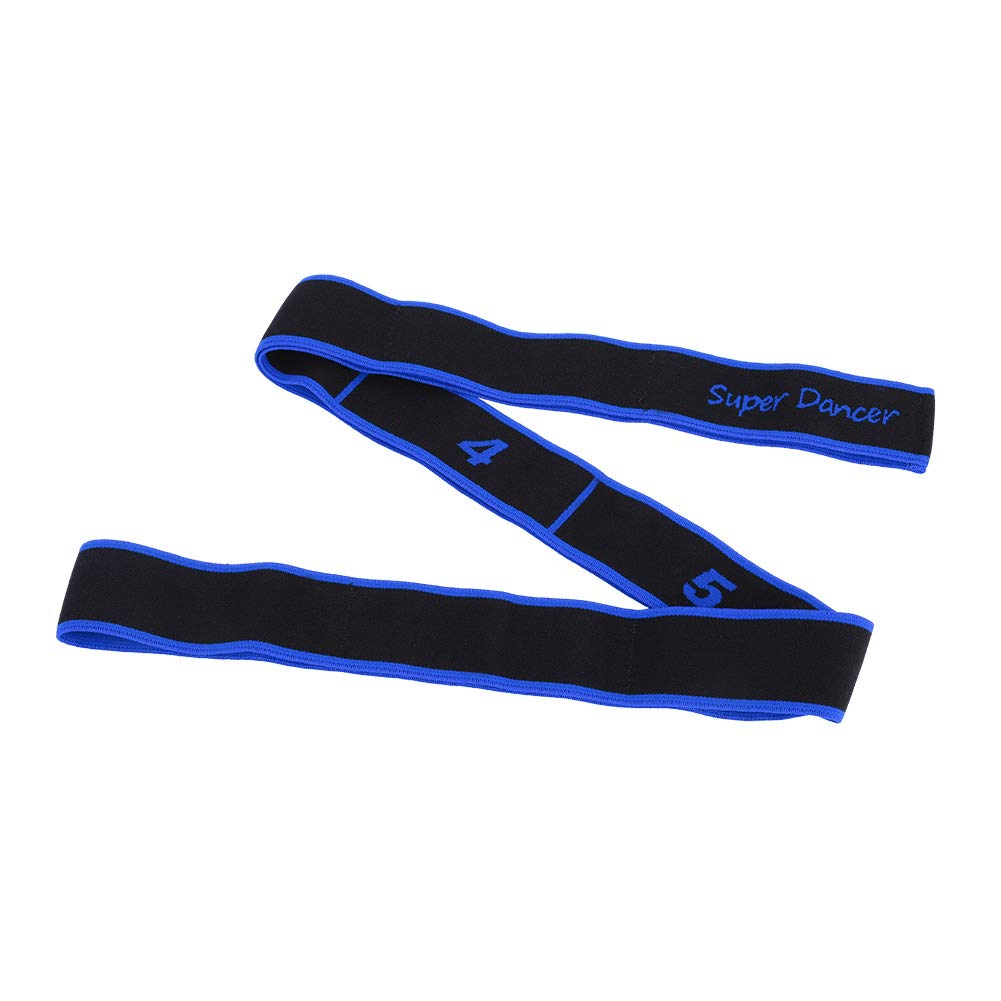 Keenso Ballet Stretch Band for Dance Yoga Improves Elastic Flexibility and Enhances Daily Stretching (Blue) by Keenso