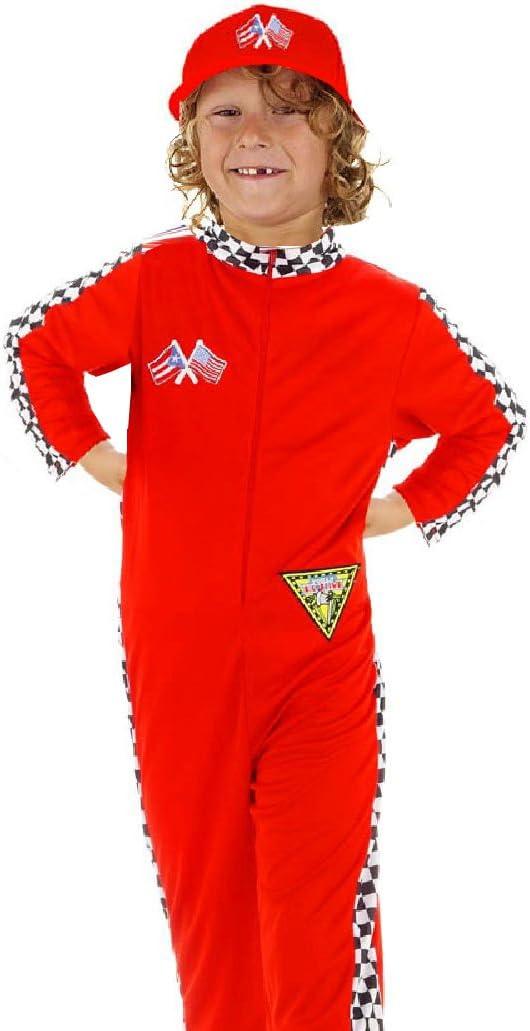 Folat B.V. Piloto de Carreras para Disfraz Infantil de Schumacher ...