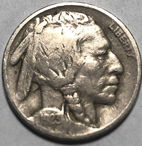 1923 P Buffalo Nickel VG Very Good Details Condition