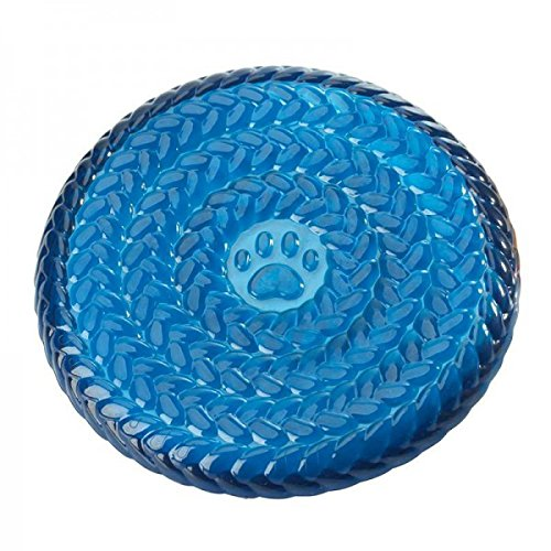 Hunter 92639 Hundespielzeug TPR Frisbee, 23 cm, blau