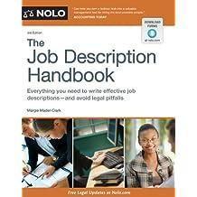Job Description Handbook, The