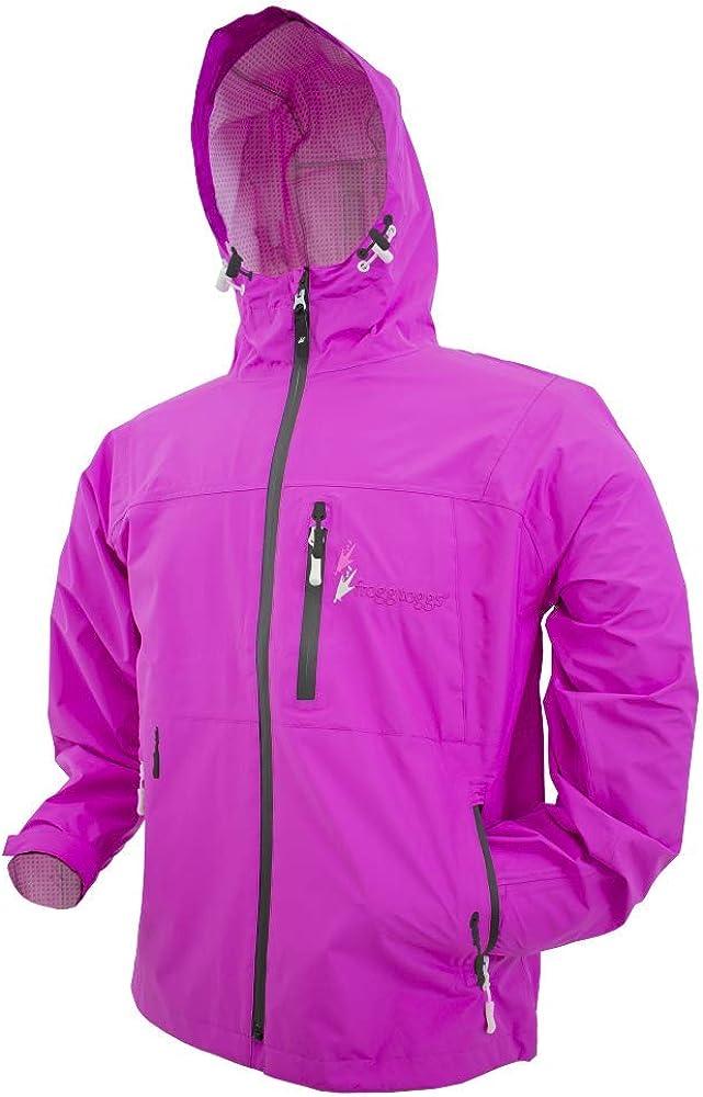 FROGG TOGGS Women's Java Toadz 2.5 Ultra Light Waterproof Breathable Rain Jacket: Clothing