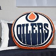 NHL Edmonton Oilers Logo Pillow