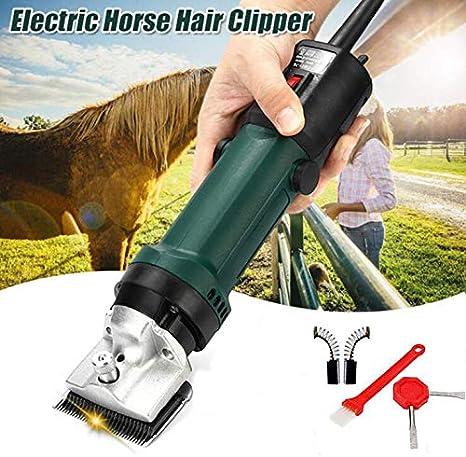 GCSEY Profesional Eléctricas para Animales Caballo Dromedario Perro Shear Clipper Pet Trimmer De Pelo 320W Máquina De Afeitar De Pelo Cizalla 240V 2400R / Min