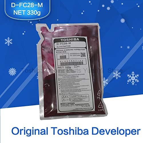 Printer Parts FC28 Developer Original Toshiba Copier Parts Magenta Color Developer D-FC28-M 6LH47947100 for 2330C 2830C 2820C 2530C 3530C by Yoton (Image #2)