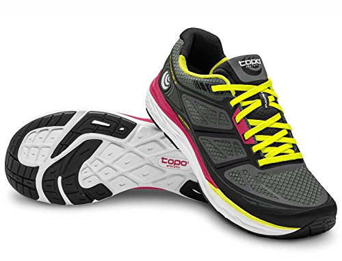 - Topo Athletic Women's FLI-Lyte 2 Running Shoe Black/Yellow 8