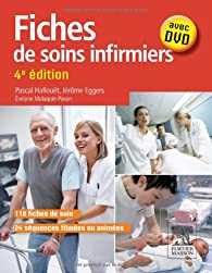 Book's Cover ofFiches de soins infirmiers