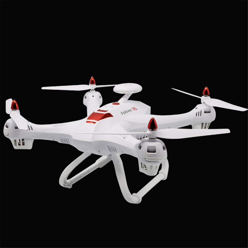 E-KIA Drohne Mit Kamera Live-Video Und GPS-Heimkehr FüR,2,4-GHz-Fernbedienung, 6-Achsen-Gyroskop, FPV-EchtzeitbildüBertragung, WiFi-üBertragung,Weiß,no-Camera