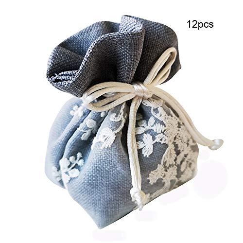 Buy Drawstring Gift Bags 12 Pcs Kids Party Ideas Candy Drawstring Bags Pouch Christmas Candy Bags Burlap Bags With Drawstring Gift With Ribbon Ties Online At Low Prices In India Amazon In