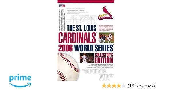 Amazon The St Louis Cardinals 2006 World Series Collectors Edition Tony LaRussa David Eckstein Albert Pujols Jim Edmonds