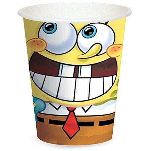 SpongeBob 'Party' Paper Cups (8ct)]()