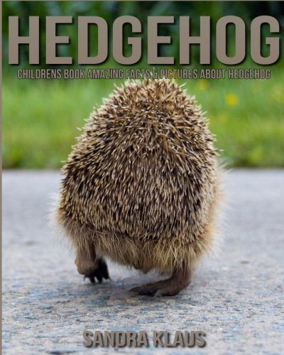 Download Childrens Book: Amazing Facts & Pictures about Hedgehog pdf