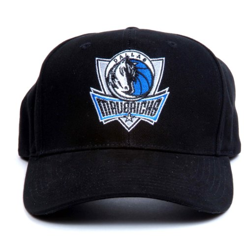 NBA Dallas Mavericks LED Light-Up Logo Adjustable Hat Black