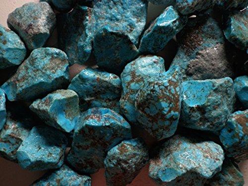 TURQUOISE Rough 1/2 Pound lots Kingman Arizona Mine Stabilized - Lot Rough