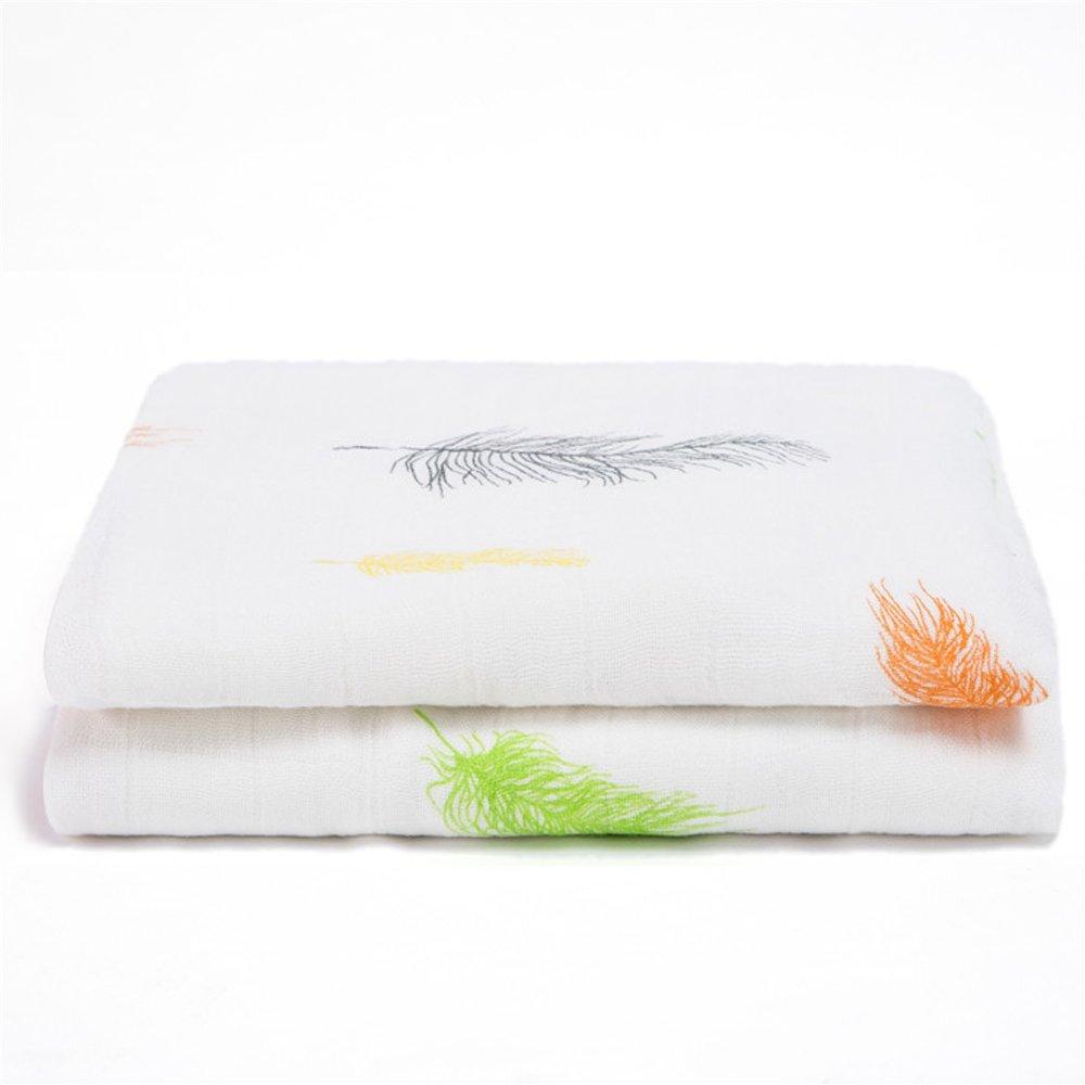 Busy Mom - asciugamano da bagno in rayon di bambù, assorbente, morbido, traspirante e antibatterico, adatto come coperta da neonato MY041D
