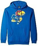NCAA Kansas Jayhawks Adult men School Logo Fleece Hood,Large,Blue