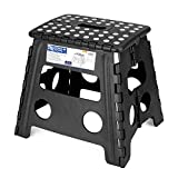 Acko Folding Step Stool - 13 inch Height Premium Heavy Duty Foldable Stool for Kids & Adults, Kitchen Garden Bathroom Stepping Stool (1 Pack)