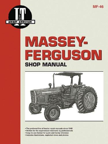 Massey Ferguson Shop Manual Models 340 350 355 360&399 (I & T Shop Service)