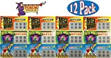 Forum Novelties Fake Lottery (Lotto) Tickets Assorted Party Bundle - 12 Pack